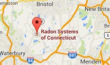 Radon Systems of Connecticut Map Image